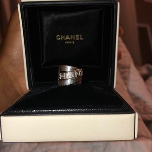 100% authentic Chanel ring